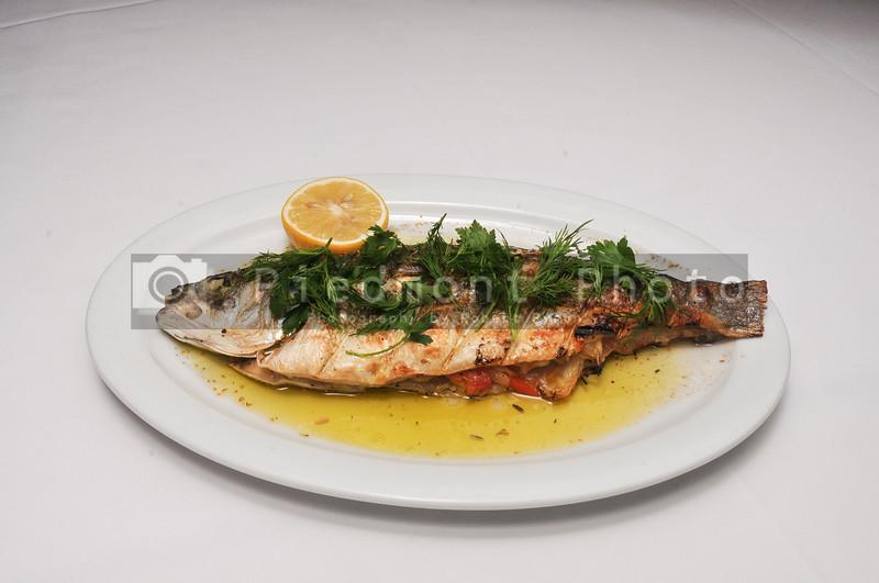 Delicious Grilled Bronzino Fish