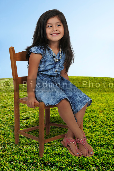 Little Girl Sitting