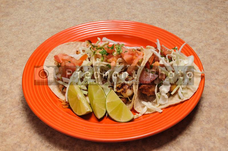 Mexican Shrimp and Fish Tacos
