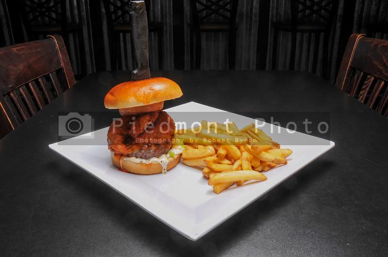 Buffalo Hot Wing Burger