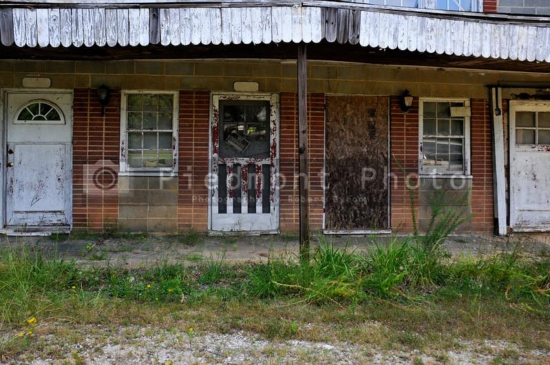 Old abandoned motel