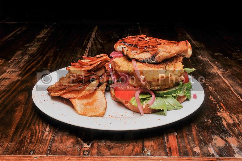 Delicious American  beyond burger on a Bun