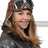 Woman Vintage Aviator