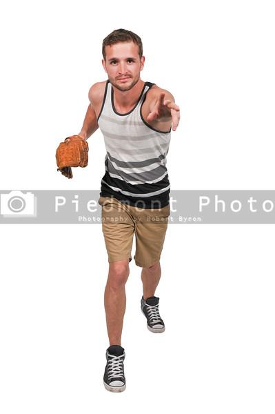 Man Baseball Player