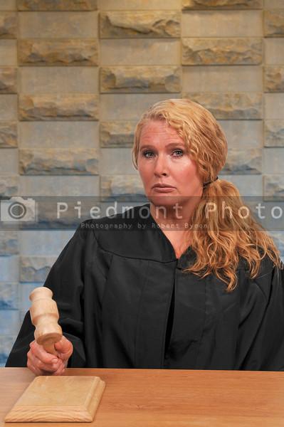 Woman Court Judge