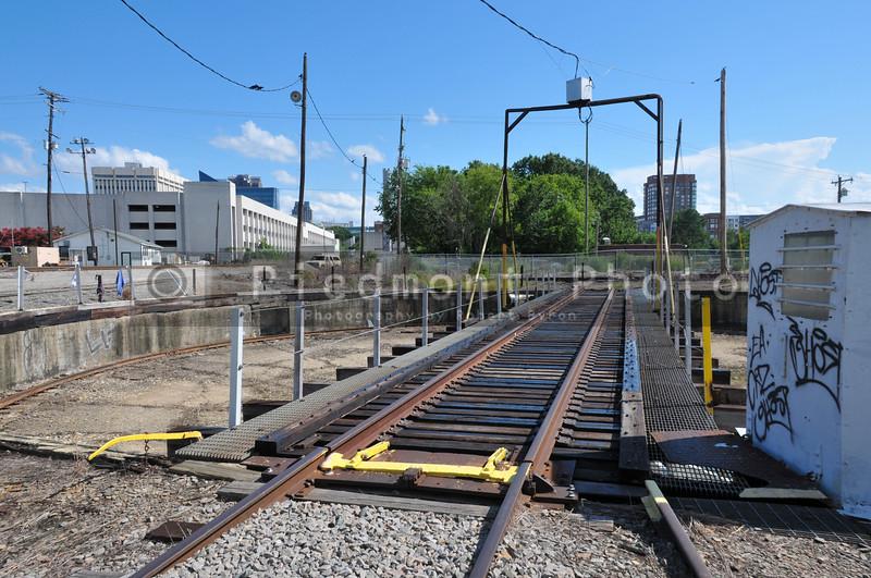 Railroad Stean Engine Turntable