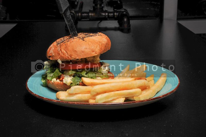 Vegan Fried Chicken Sandwich