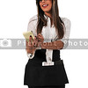 Woman server or waitress