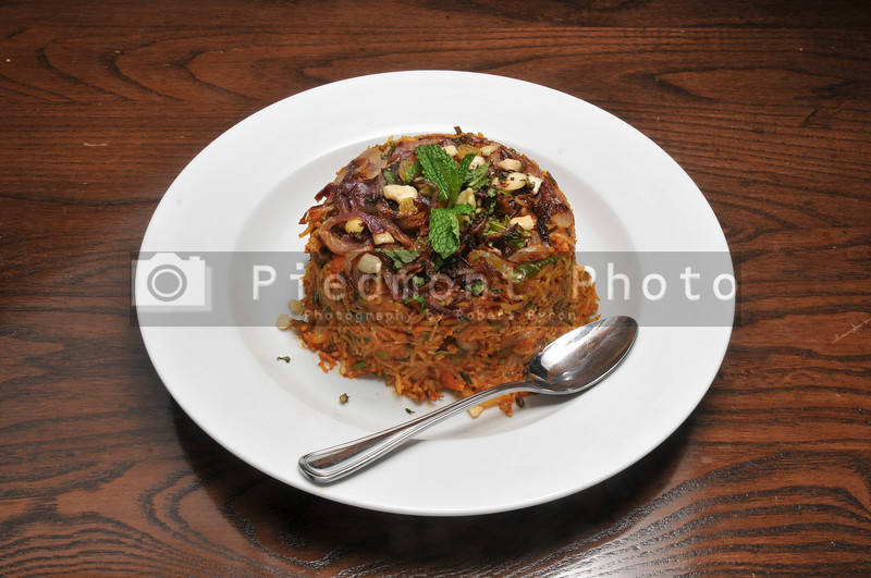 Indian Vegetable Biryani