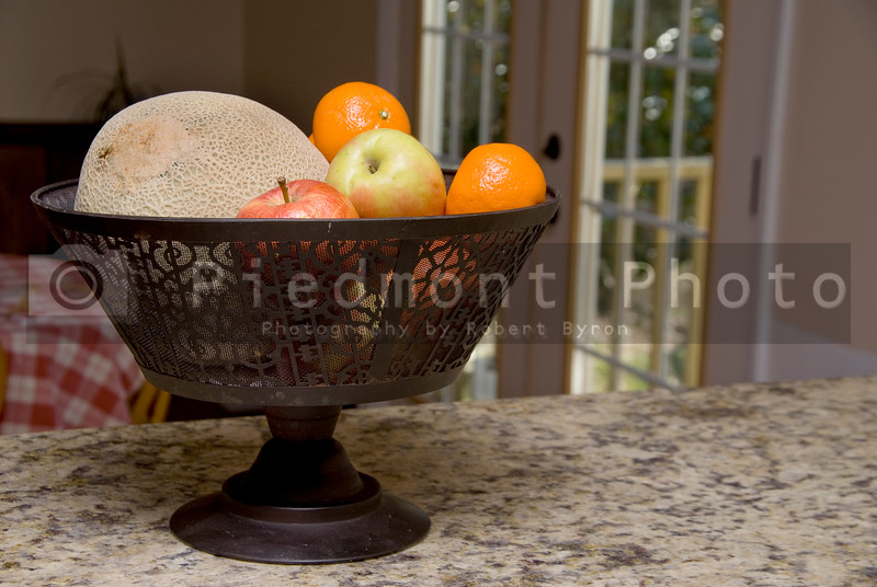 A delicious and fresh colorful bowl of fruit