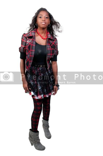 A very beautiful African American black woman teenager