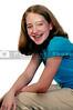 A beautiful and young stylish teenage girl