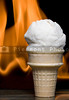 Flaming Ice Cream