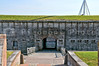 The Fort Macon Civil War museum in North Carolina