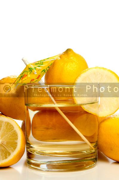 A glass full of delicious fresh lemonade