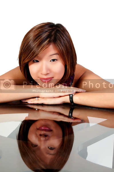 A young Beautiful Asian Woman with a lovely smile