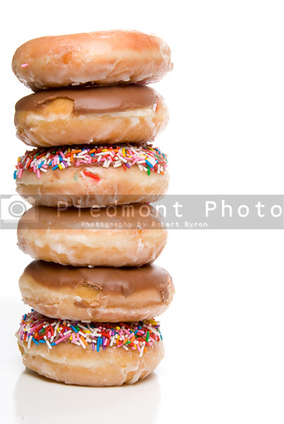 An assortment of fresh and delicious doughnuts