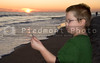 Boy at Sunset