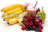 A delicious cold Fruit Smoothie or daiquiri
