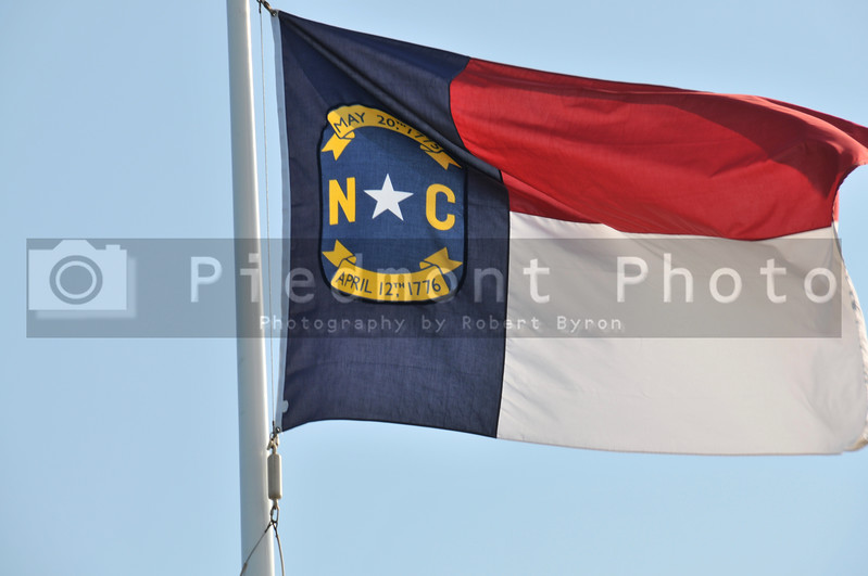 The flag of the Old North State, North Carolina