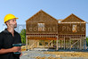 The construction of a new residential home