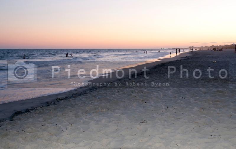 A sandy tropical paradise known as the beach