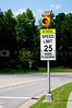 A Solar Powered School Speed Limit Sign