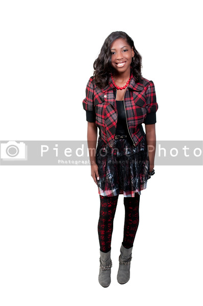 A very beautiful African American black woman teenager