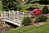 A small footbridge over a small steam