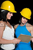 A couple of beautiful Female Construction Supervisors