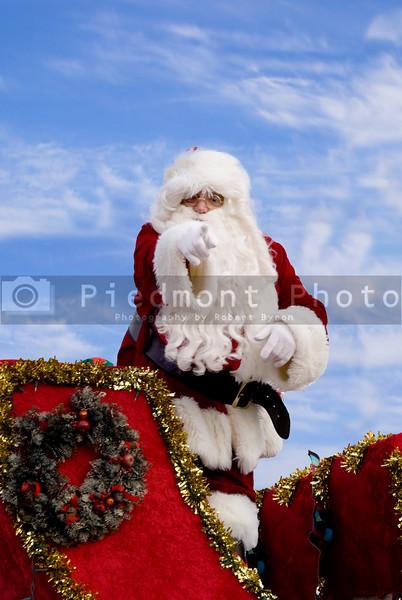 Santa Claus Fuquay Varina Christmas Parade December 6 2009