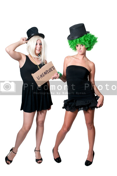 A couple of unemployed women looking for work
