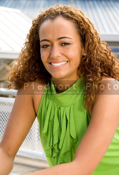 A very beautiful African American woman with a big smile