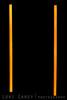Twin Seagate FreeAgent 500GB External Hard Drives glowing in the dark