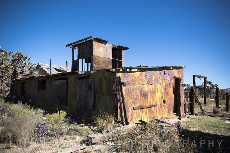 Dawson Camp at the Death Valley Mine in the Mojave National Preserve