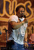 Aaron Neville of the Neville Brothers performing at the Doheny Blues Festival in Dana Point, California May 2005