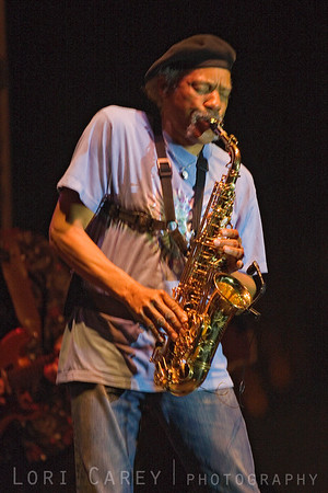 Charles Neville of the Neville Brothers performing at the Doheny Blues Festival in Dana Point, California May 2005