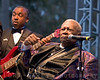 Blues legend B.B. King performing at the 2006 Doheny Blues Festival in Dana Point, CA