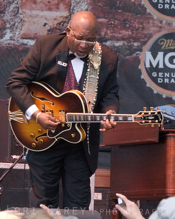 BB King's Blues Band at the Doheny Blues Festival in Dana Point, California on May 21, 2006