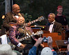 Some tension at the start of the show; BB King Blues Band playing at the Doheny Blues Festival in Dana Point, California on May 21, 2006