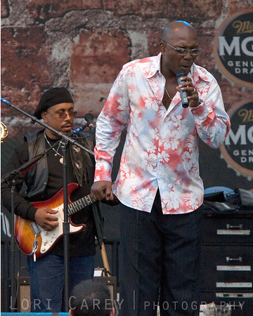 Larry Braggs of Tower of Power at the Doheny Blues Festival in Dana Point, California on May 21, 2006