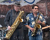 "Stephen ""Doc"" Krupka and Tom Politzer of Tower of Power at the Doheny Blues Festival, Dana Point, California on May 21, 2006"