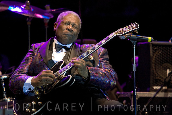 BB King at the Doheny Blues Festival in Dana Point, California on May 21, 2006