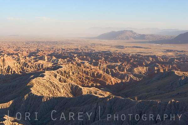 Borrego Badlands viewed from Fonts Point