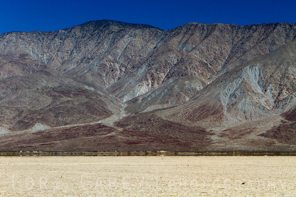 Clark Dry Lake and the Santa Rosa Mountains in Anza-Borrego Desert State Park