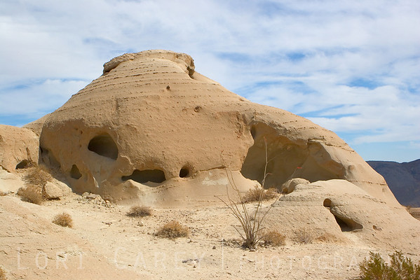 I can easily picture this as someone's home. It reminds me of the Flintstones!