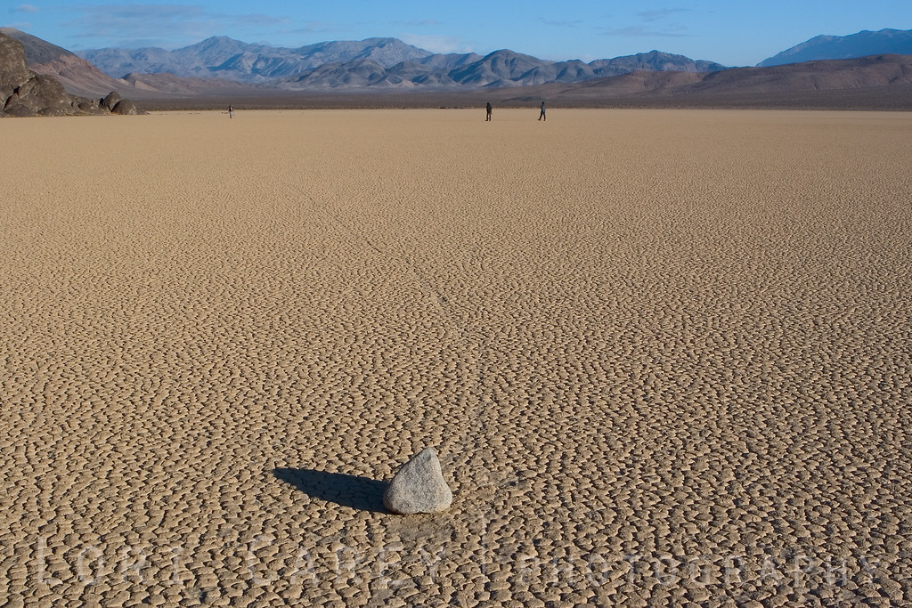 The mysterious Racetrack Playa at Death Valley National Park.