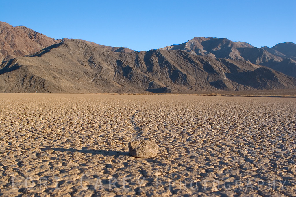 "The mysterious Racetrack Playa at Death Valley National Park. <br><br> <a href='http://www.licensestream.com/LicenseStream/client/contentDisplay.aspx?cid=12460&fid=13173&l=r'><font color=""red"">License this Image</font></a>"