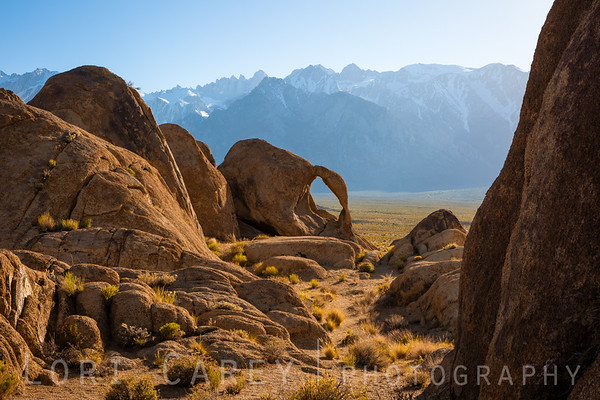 Cyclops Arch, aka Double Arch, Alabama Hills