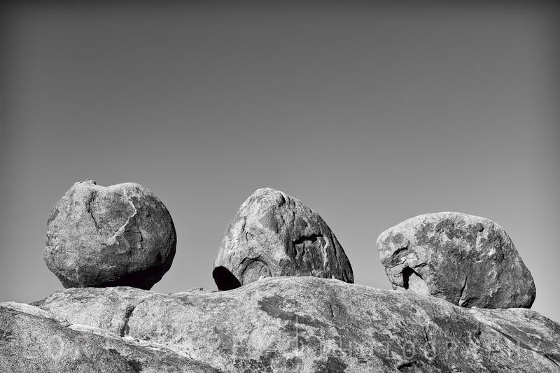 Three Brothers rock formation, Alabama Hills, California